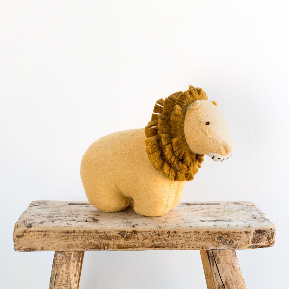 lion door stopper-baby - nursery decor-fiona walker-k colette