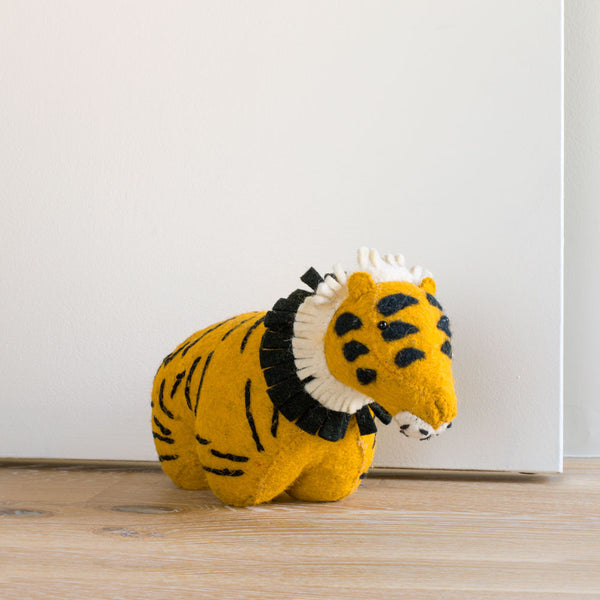 tiger door stopper-baby - nursery decor - sale-fiona walker-Default-k colette