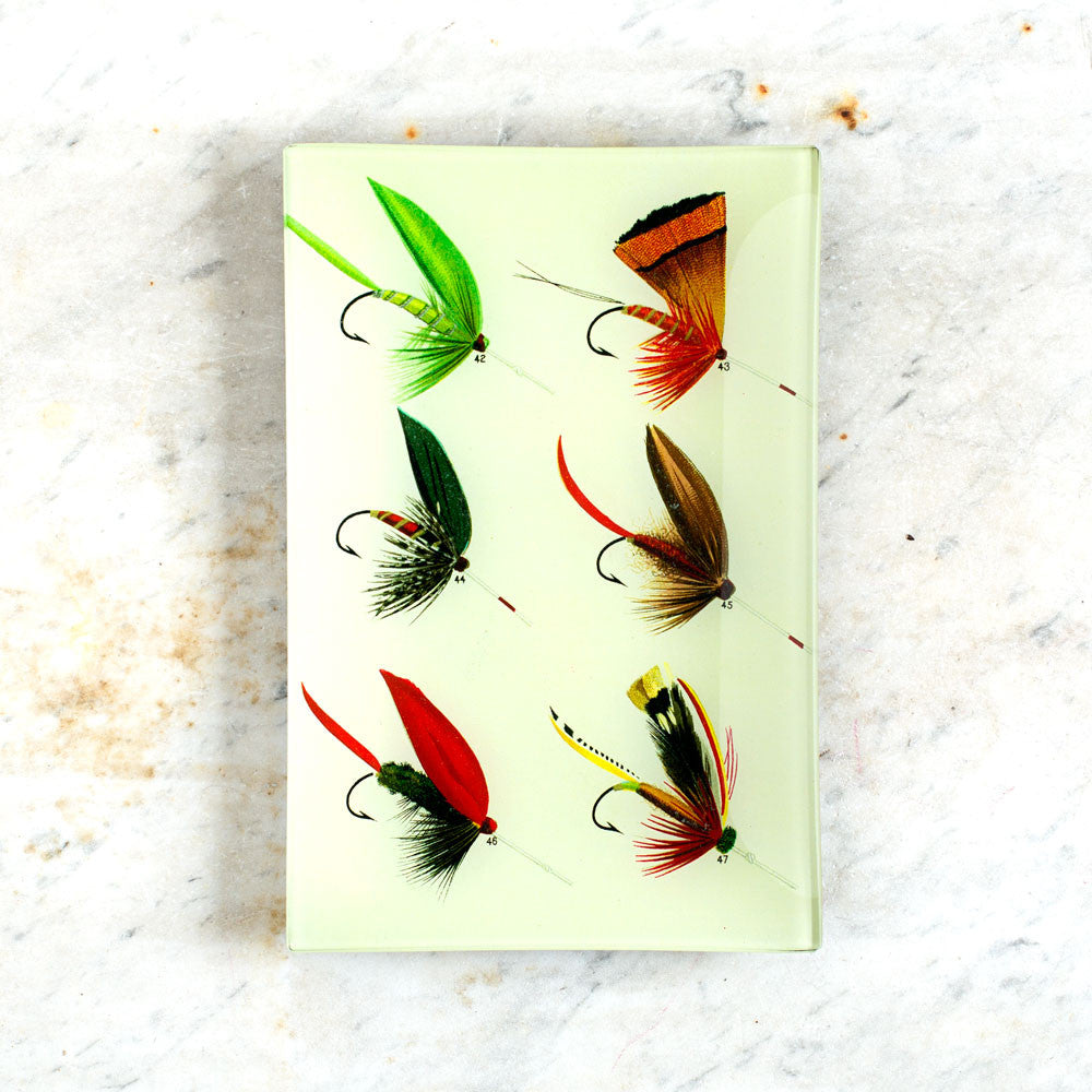 lake flies no. 42 tray-art & decor - decoupage-john derian-Default Title-k colette