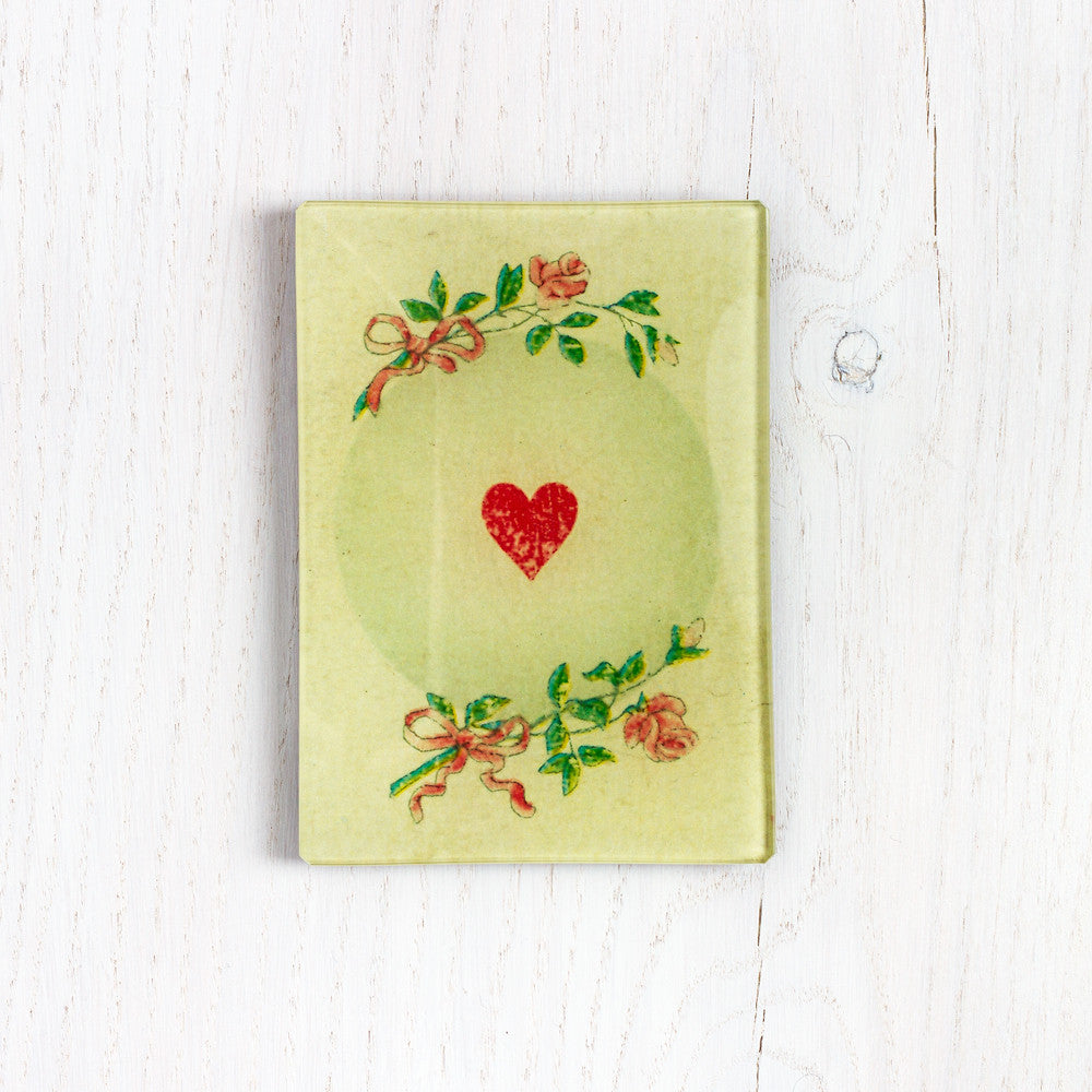 ace of hearts tray-art & decor - decoupage-john derian-k colette
