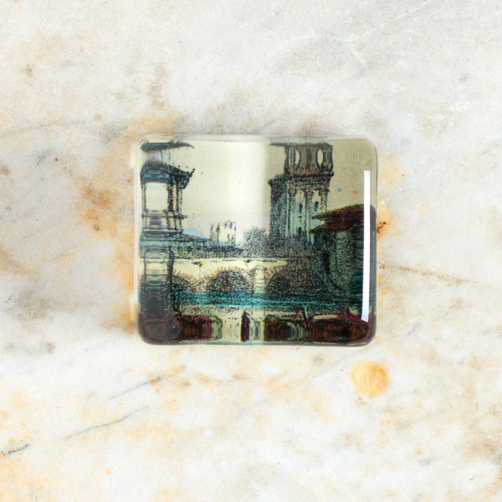 bridge charm paperweight-art & decor - decoupage - desktop - paperweights-john derian-Default Title-k colette