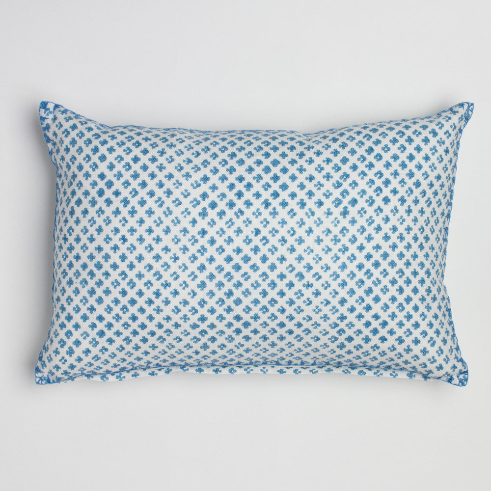 rabari light indigo lumbar-textiles - pillows-john robshaw-Default Title-k colette