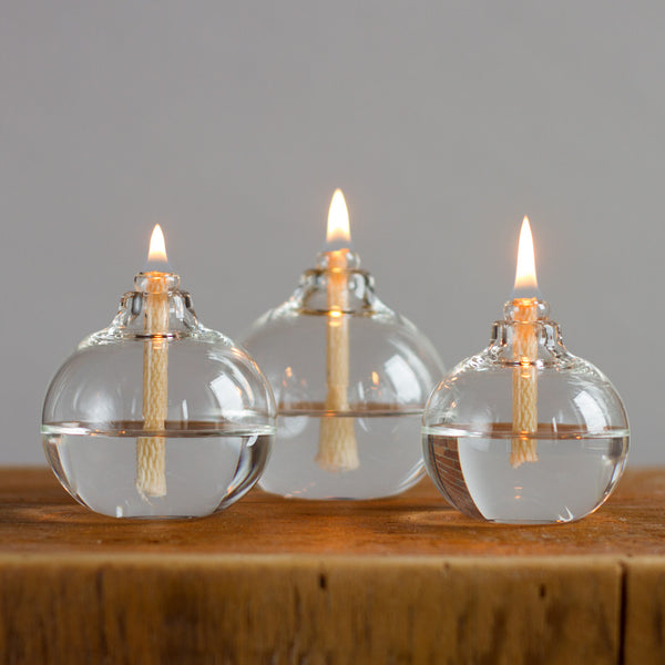 glass flower bulb-candles - candles-oil lamps-small-k colette
