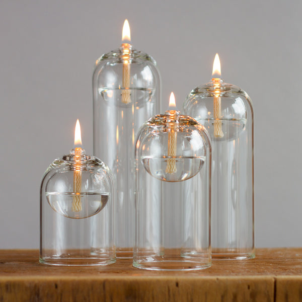 "glass oil candle-candles - candles-oil lamps-4""-k colette"