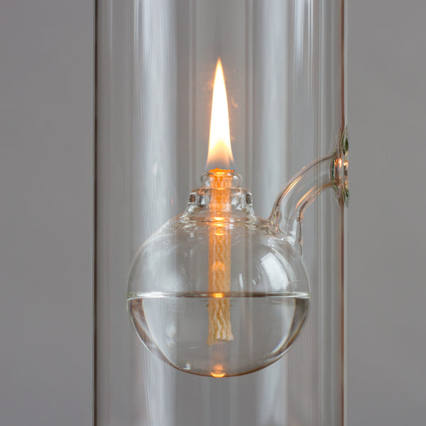"glass oil lamp-candles - candles - art & decor - decorative objects-oil lamps-6""-k colette"