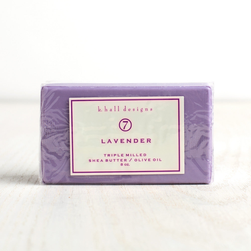 lavender bar soap-apothecary - soaps & lotions-k hall designs-k colette