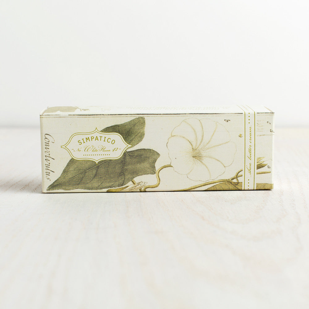 white flower hand & body cream-apothecary - soaps & lotions-simpatico by k hall designs-k colette