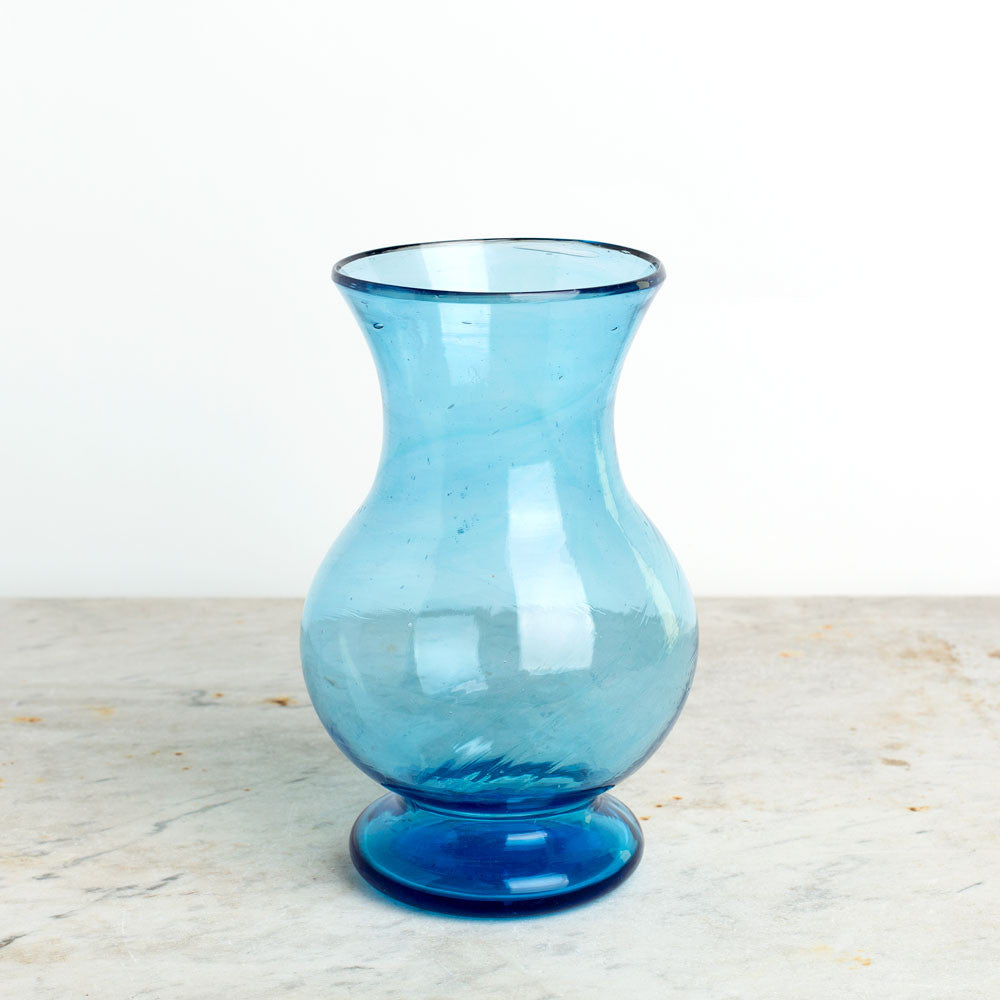 blown glass colbert vase-art & decor - decorative objects-la soufflerie-turquoise-k colette