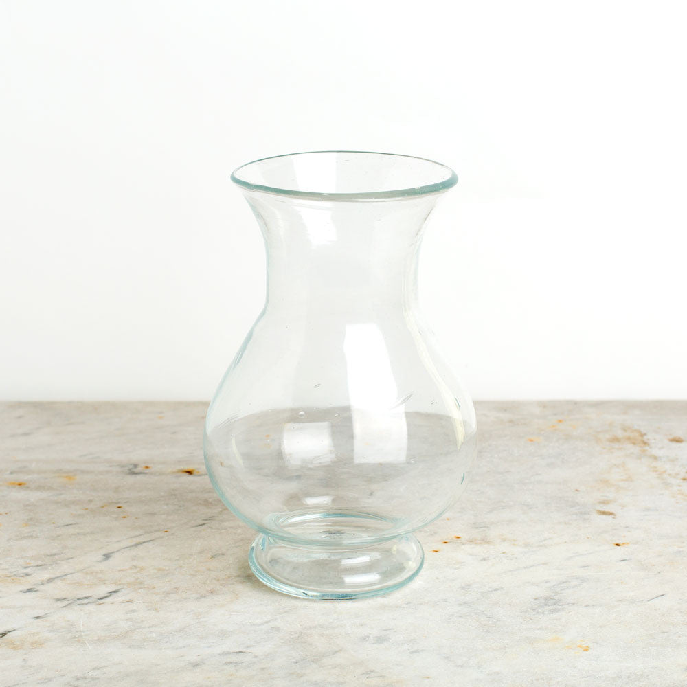 blown glass colbert vase-art & decor - decorative objects-la soufflerie-clear-k colette