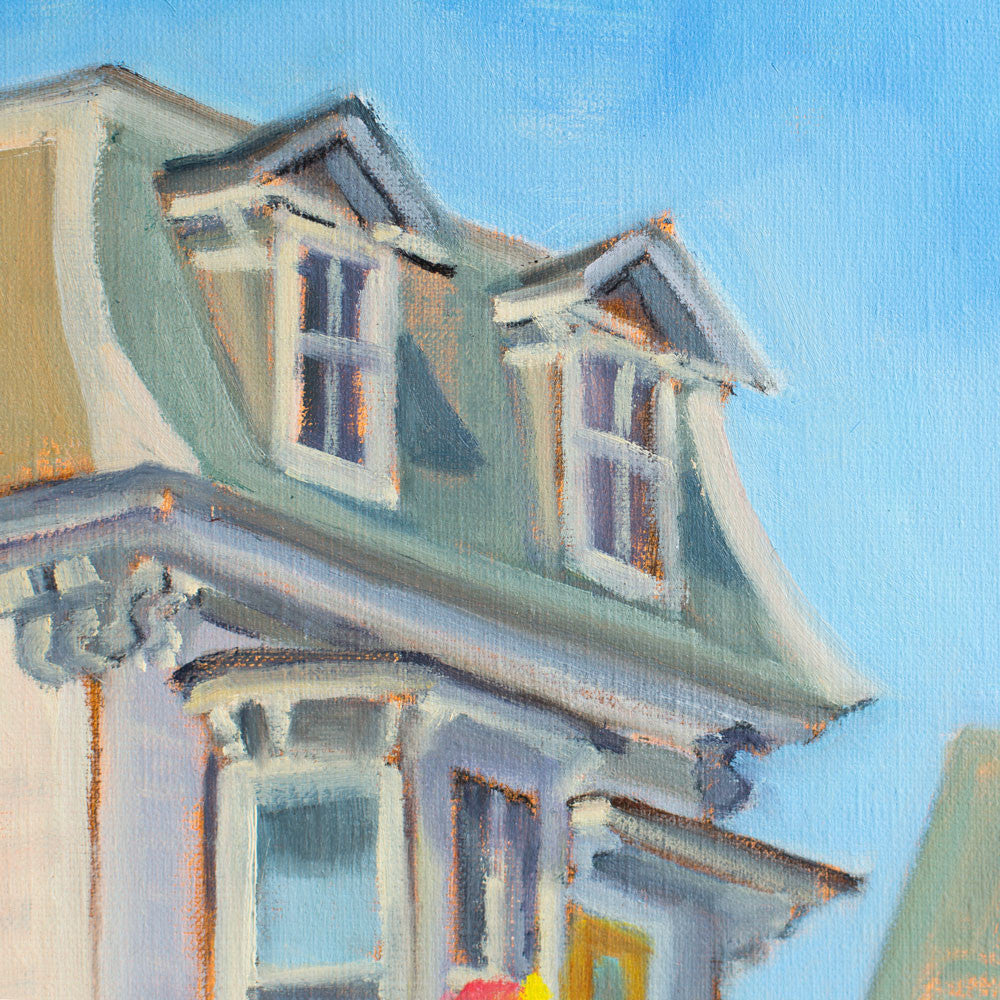 mansard (stonington) by leslie anderson-art & decor - paintings & prints-leslie anderson-k colette