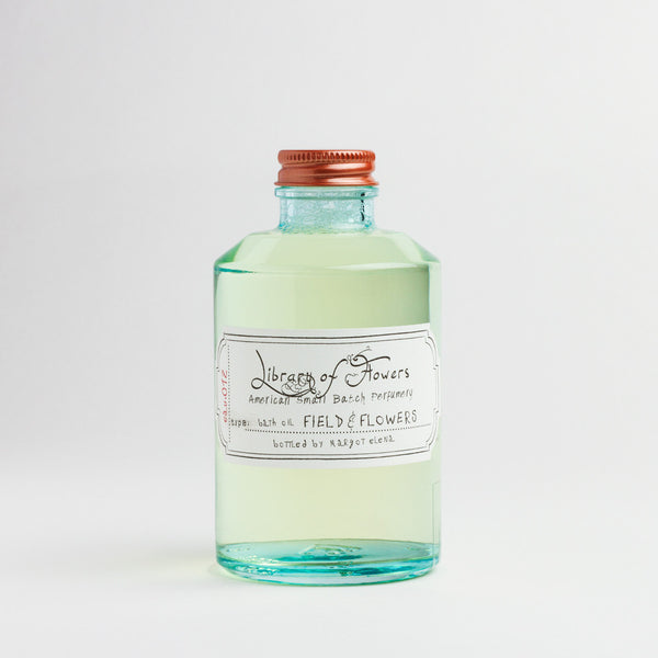 field & flowers bath oil-apothecary - oils & elixirs-library of flowers-k colette