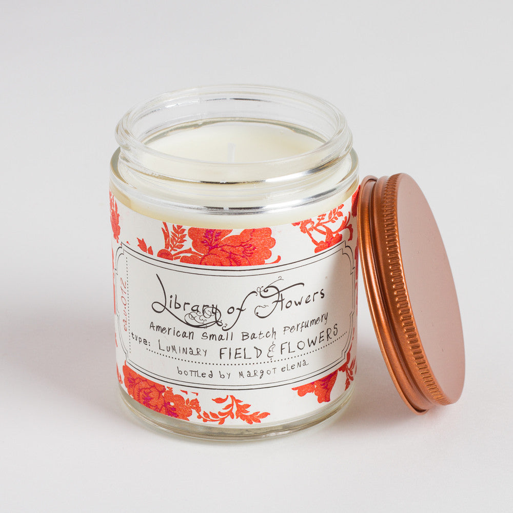 field & flowers candle-candles - candles-library of flowers-k colette