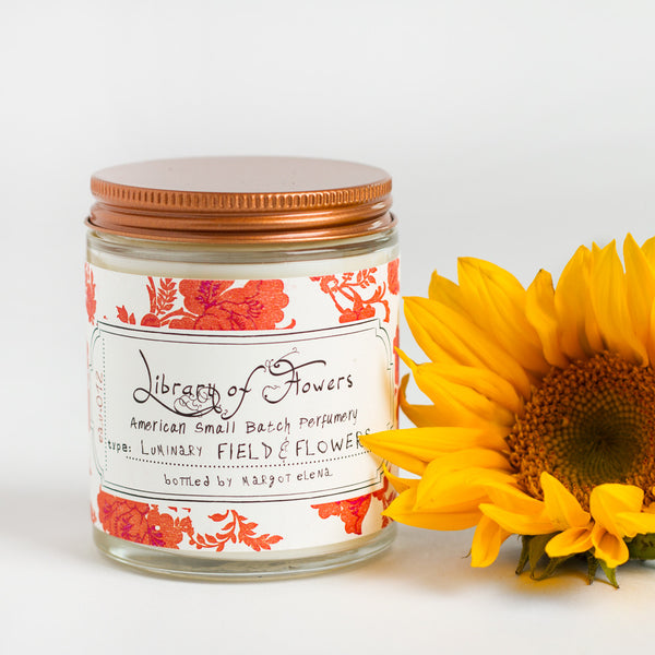 field & flowers candle-art & decor - apothecary - candles-library of flowers-k colette