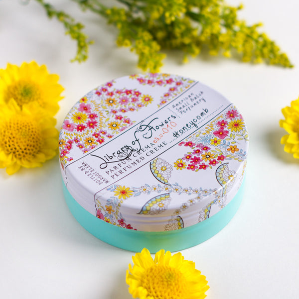 honeycomb parfum crema-apothecary - soaps & lotions - fragrance-library of flowers-k colette