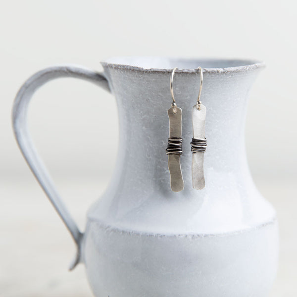 river with vines earrings-accessories - jewelry-lisa gent jewelry-Sterling Silver-k colette