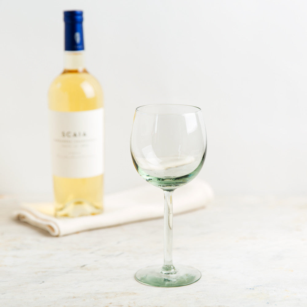 bremers white wine glass-kitchen & dining - bar & drinkware-ngwenya glass-k colette