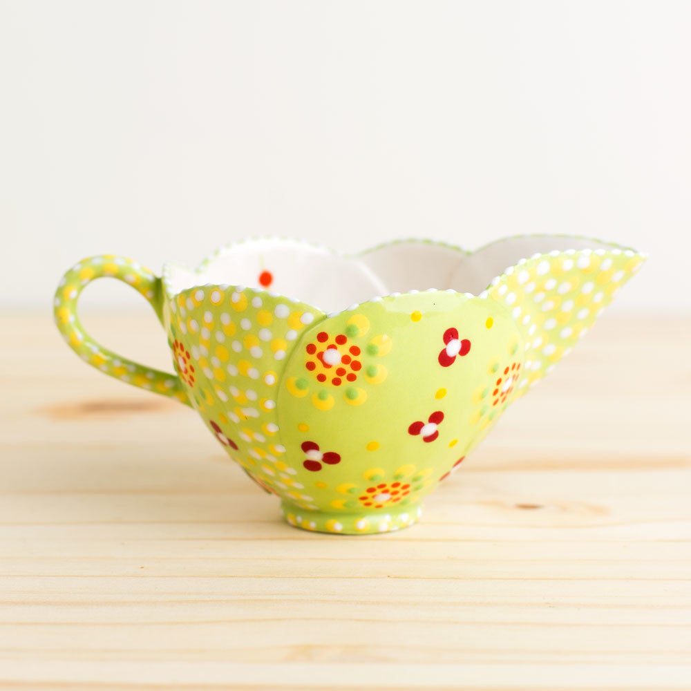 tulip milk jug-kitchen & dining - serveware-potterseed-k colette