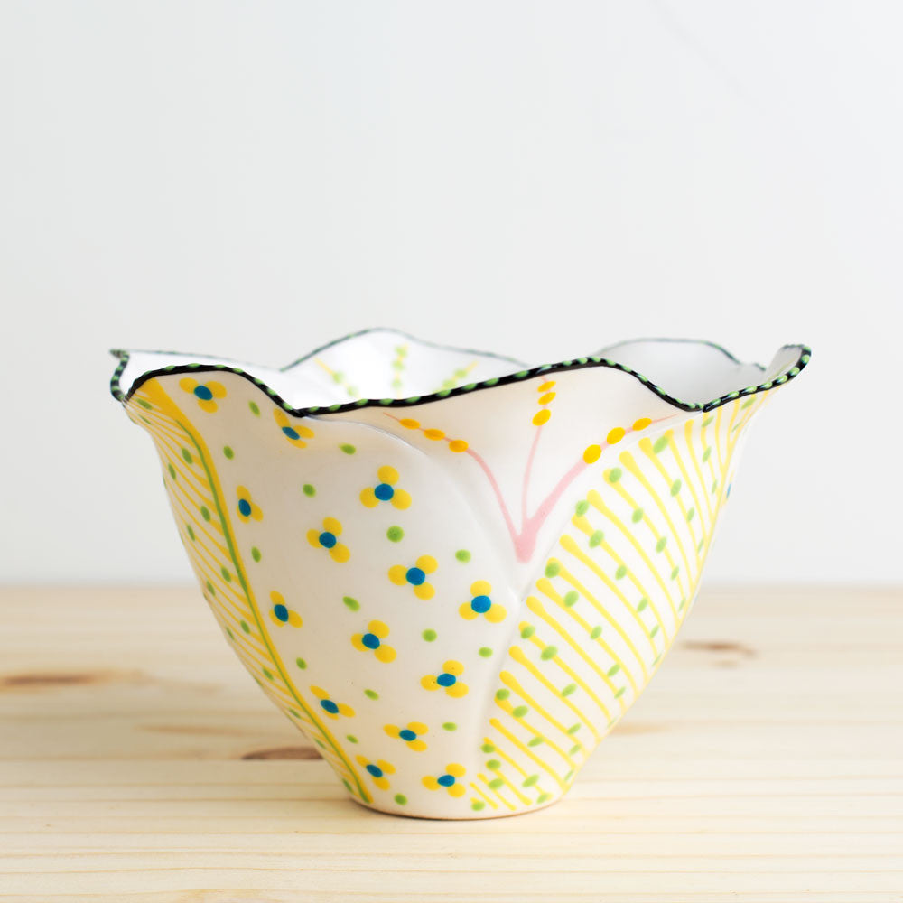 tulip bowl-kitchen & dining - dinnerware-potterseed-White-k colette