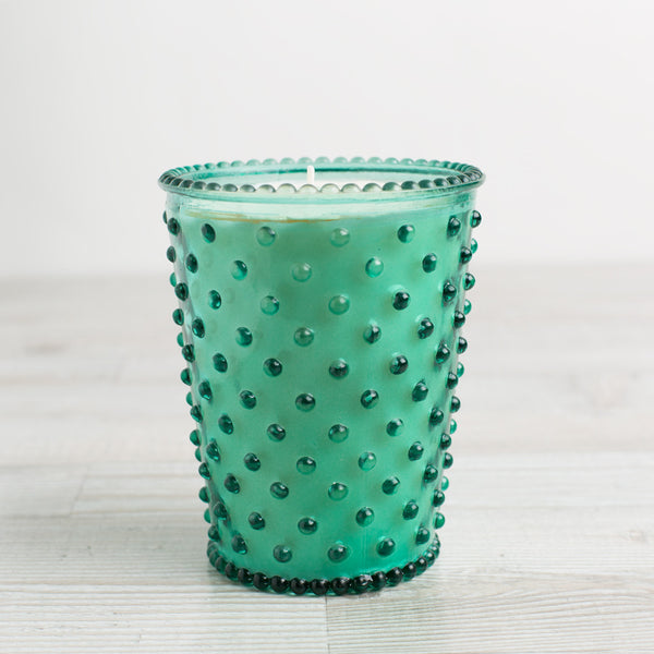 hobnail candle, marine-apothecary - candles-simpatico by k hall designs-k colette