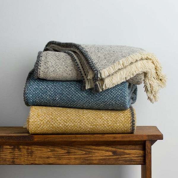 hydra wool & silk throw-textiles - throws-teixidors-k colette