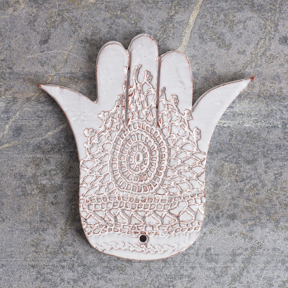 porcelain hand of fatima, rouge-art & decor - decorative objects-valérie casado-Default Title-k colette