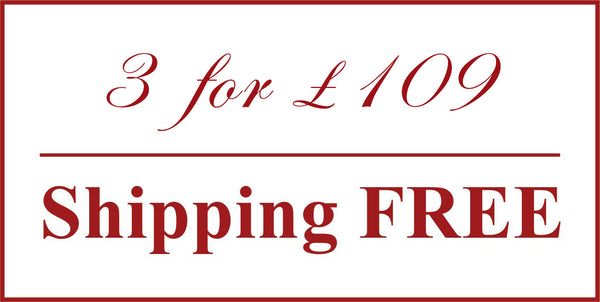 Buy Any 3 for £79 only & Shipping Free