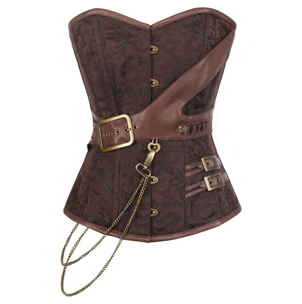 Adrina Steampunk Overbust Corset - DEMO for Corset