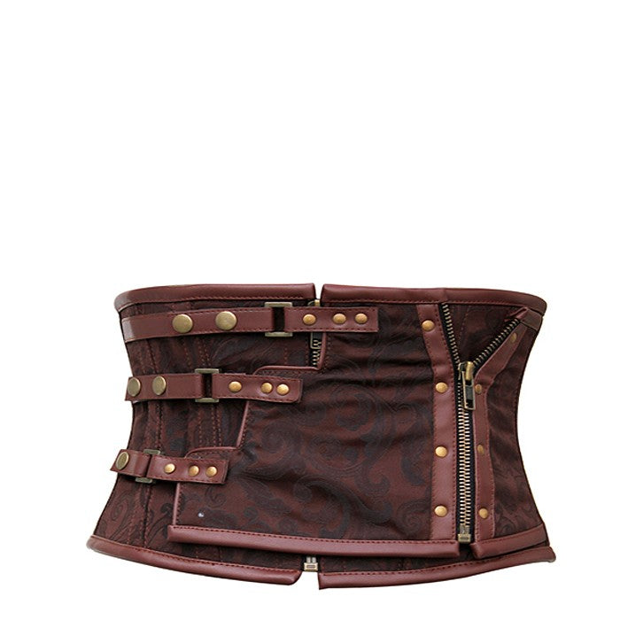 Nia Brown Steampunk Corset Belt
