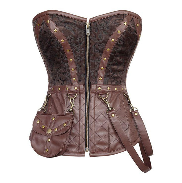 Asensio Steampunk Overbust Corset