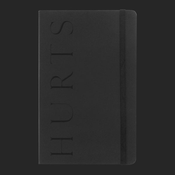EMBOSSED LOGO NOTEPAD