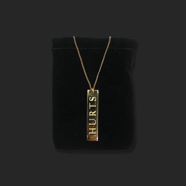 LOGO GOLD NECKLACE