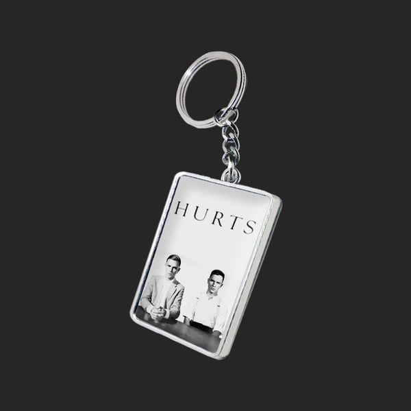 EXILE AND HAPPINESS DOUBLE SIDED KEYRING