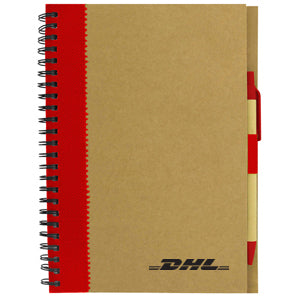 DHL Recycled Paper Notebook