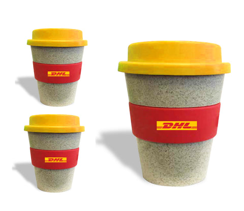 DHL Cup2Go Eco Mug - Now in Recycled Bamboo