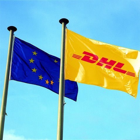 DHL Building Flag