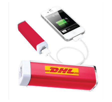 DHL Tube Mini PowerBank (Minimum 100 @ $12.00ea)