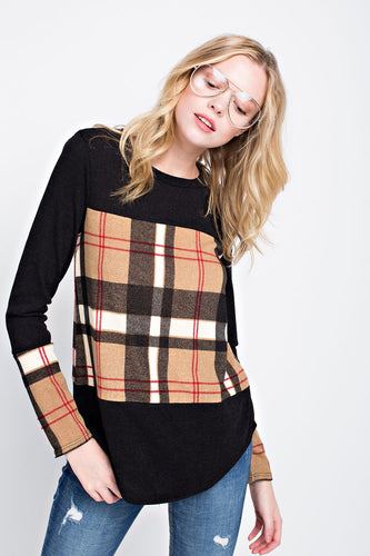 Plaid Sweater