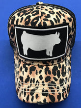 Leopard Stockshow Animal Cap - Lamb, Pig, Steer