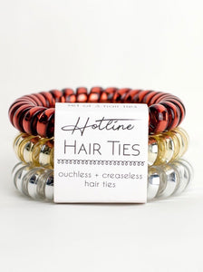 Fire and Gold Hotline Hair Ties