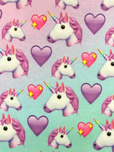 Unicorn and Hearts Crew Sock