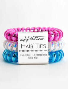 Spring Breaker Hotline Hair Ties