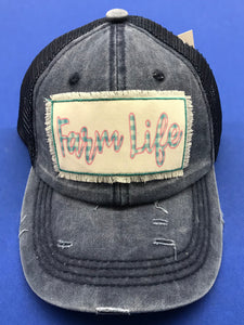 Farm Life Cap in Denim Blue