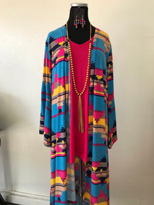 Spring Aztec Duster