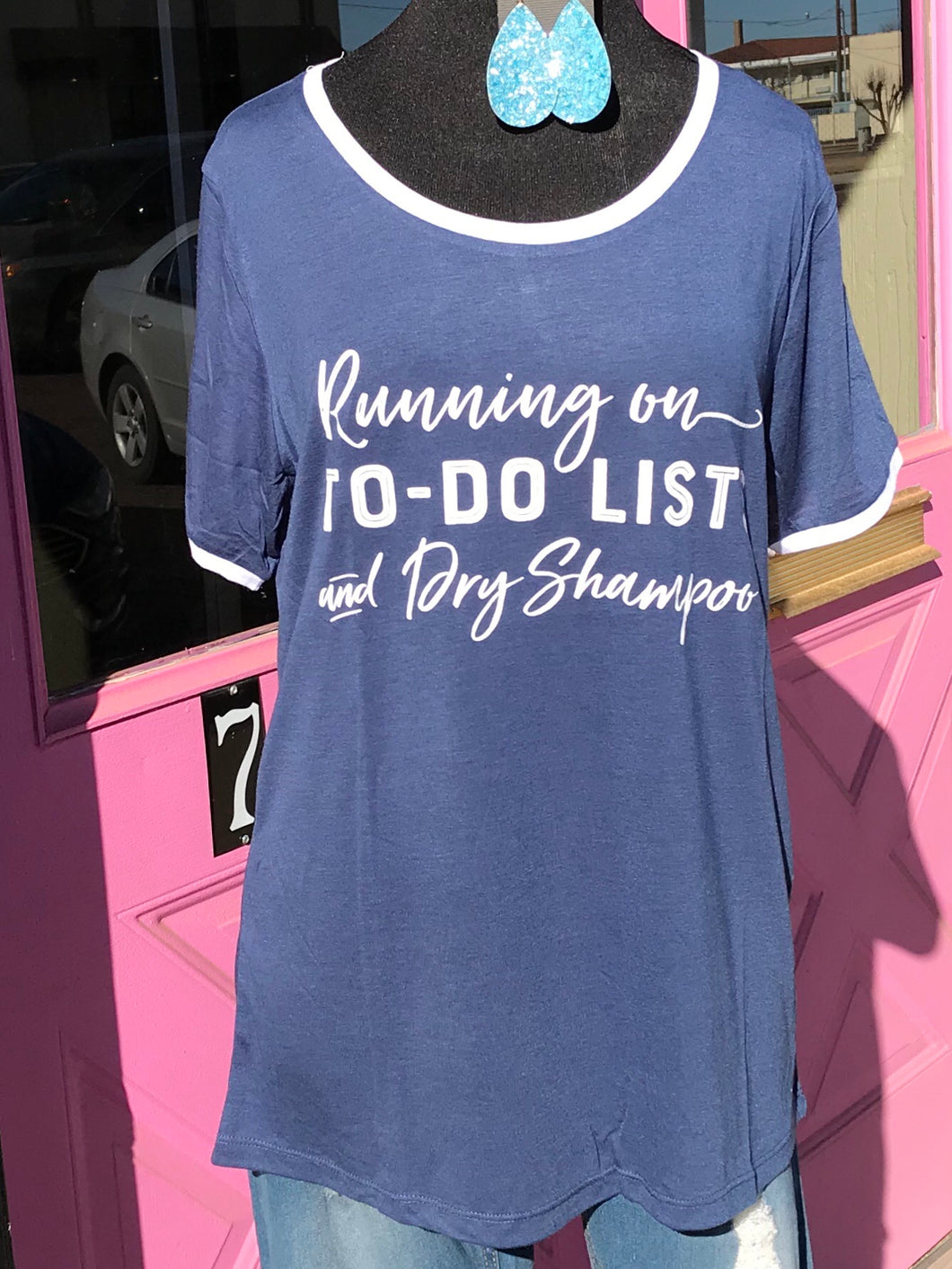 Running on To-Do Lists and Dry Shampoo