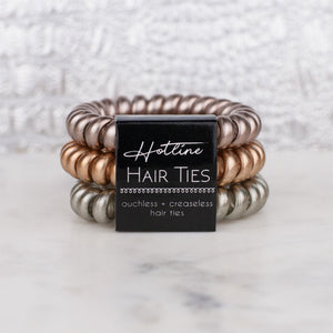 Mixed Metals Hotline Hair Ties