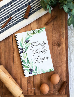 Kitchen Recipe Journal