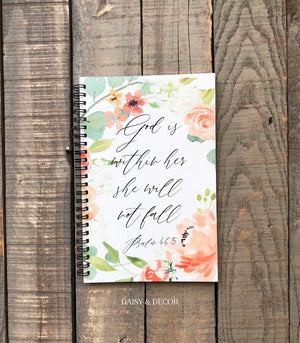 Bible Study Journal - God is within her