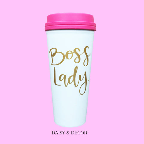Boss Lady Travel Mug