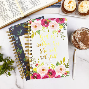 Hardcover Bible Study Journal - Psalm 46:5