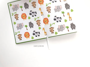 Daisy and Decor Nursery books record memories Cute and funny things my kid says and does linen keepsake journal